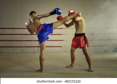 Muay thai martial art - Boxing