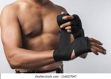 Muay thai series (Hand Wrapping)