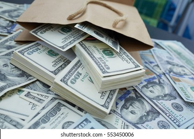 much money out of a paper bag