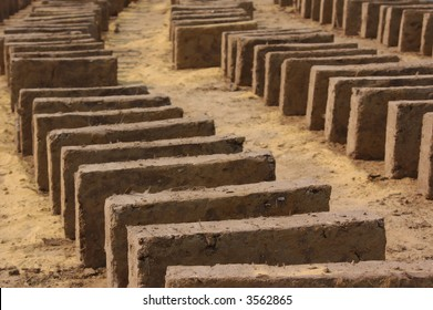 Mud Adobe Bricks