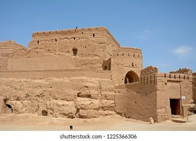 Mud castle, Meybod, Iran