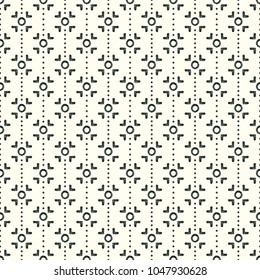 Mud Cloth Inspired Seamless Pattern
