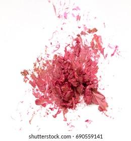Mud from lipstick