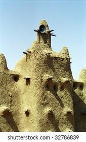Mud mosque, Senossa, Mali