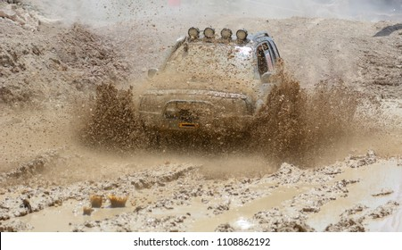 mud, tough roads and off-road vehicle