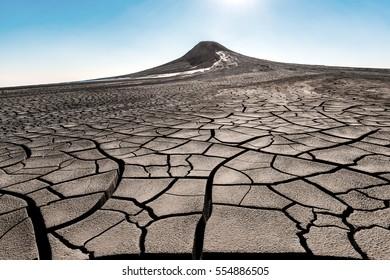 Mud volcano eruption