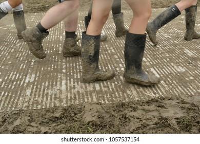 Muddy Festival Wellies