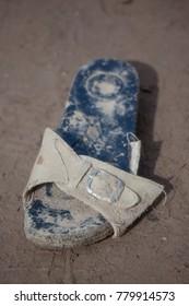 Muddy Sandal - Flood Disaster in Olympos, Turkey