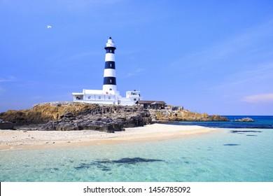 Mudouyu Lighthouse in Penghu Taiwan