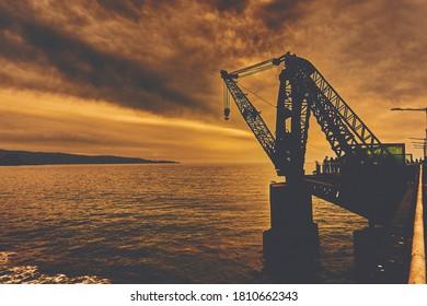 """""""Muelle Vergara"""", Viña del Mar, Chile."""