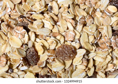 Muesli Background close up