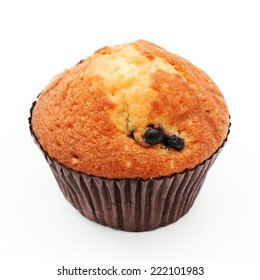 muffin with black currant