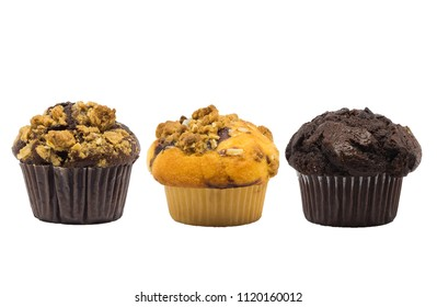 muffin cup cake closeup isolated on white background.