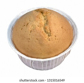Muffin light with filling cheese in a bowl