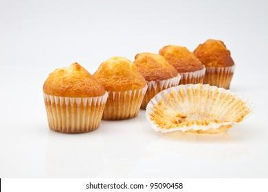 muffins freshly baked golden and tender