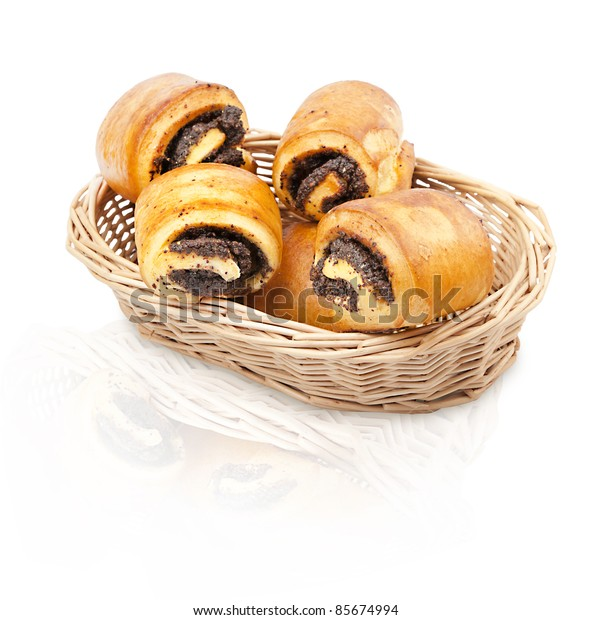 muffins with poppy seed rolls