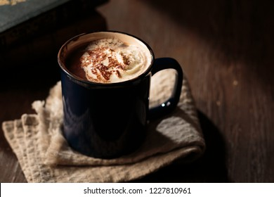 Mug of hot chocolate