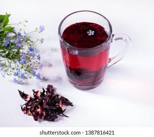 Hibiscus Tea Images Stock Photos Vectors Shutterstock