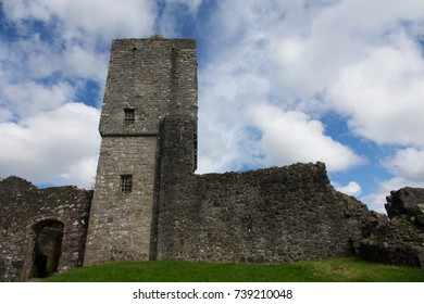 Mugdock Castle in Mugdock Park, Scotland, UK.