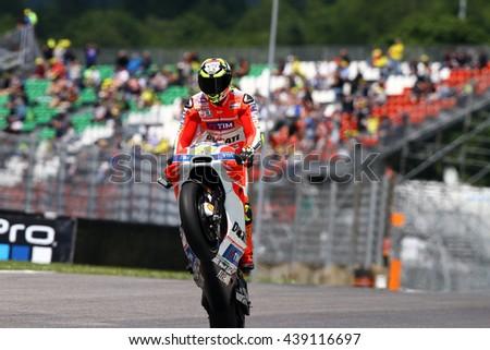 b0b9450025 MUGELLO ITALIA MAY 20 Spanish Suzuki Stock Photo (Edit Now ...