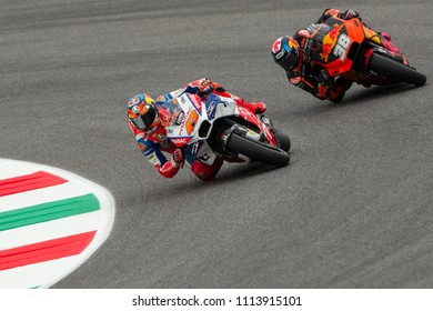 MUGELLO - ITALY, JUNE 1: Australian Ducati rider Jack Miller at Oakley MotoGP of Italy at Mugello circuit on June 1, 2018