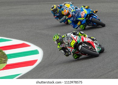 MUGELLO - ITALY, JUNE 1: British Honda rider Cal Crutchlow at Oakley MotoGP of Italy at Mugello circuit on June 1, 2018