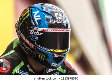 MUGELLO - ITALY, JUNE 1: French Yamaha rider Johann Zarco at Oakley MotoGP of Italy at Mugello circuit on June 1, 2018