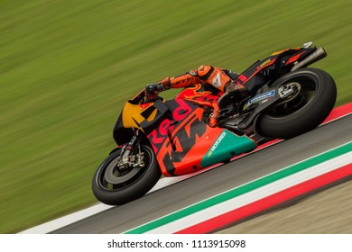 MUGELLO - ITALY, JUNE 1: Spanish KTM rider Pol Espargaro at Oakley MotoGP of Italy at Mugello circuit on June 1, 2018