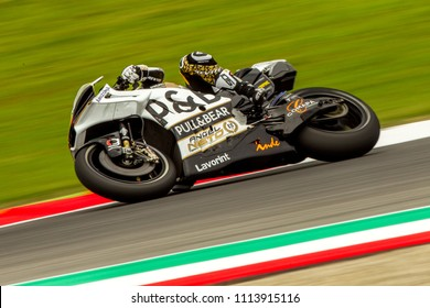 MUGELLO - ITALY, JUNE 1: Spanish Ducati rider Alvaro Bautista at Oakley MotoGP of Italy at Mugello circuit on June 1, 2018