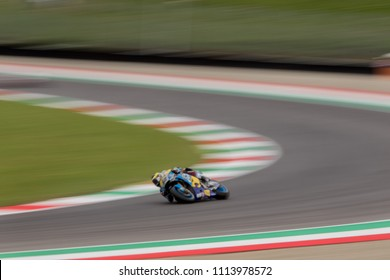 MUGELLO - ITALY, JUNE 1: Swiss Honda rider Tom Luethi at Oakley MotoGP of Italy at Mugello circuit on June 1, 2018