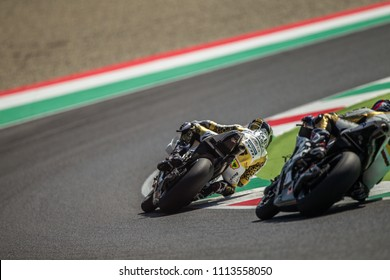 MUGELLO - ITALY, JUNE 2: Spanish Ducati rider Alvaro Bautista at Oakley MotoGP of Italy at Mugello circuit on June 2, 2018