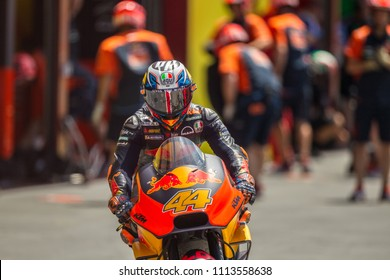 MUGELLO - ITALY, JUNE 2: Spanish KTM rider Pol Espargaro at Oakley MotoGP of Italy at Mugello circuit on June 2, 2018