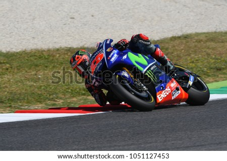 dd6a67504b MUGELLO ITALY JUNE 3 Spanish Yamaha Stock Photo (Edit Now ...