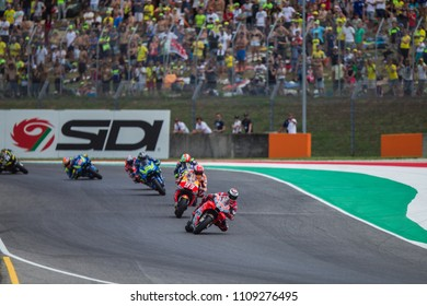 MUGELLO - ITALY, JUNE3: Spanish Ducati rider Jorge Lorenzo wins at Oakley MotoGP of Italy at Mugello circuit on June 3, 2018