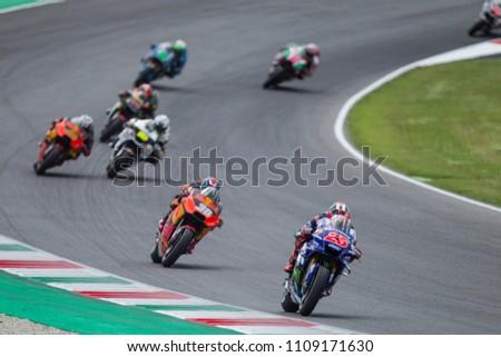 b248883348 MUGELLO ITALY JUNE 3 Spanish Yamaha Rider Stock Photo (Edit Now ...