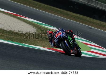 8e1e6fdd39 MUGELLO ITALY MAY 3 Spanish Yamaha Stock Photo (Edit Now) 660176758 ...
