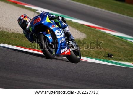 01058db963 MUGELLO ITALY MAY 31 Spanish Suzuki Stock Photo (Edit Now) 302229710 ...