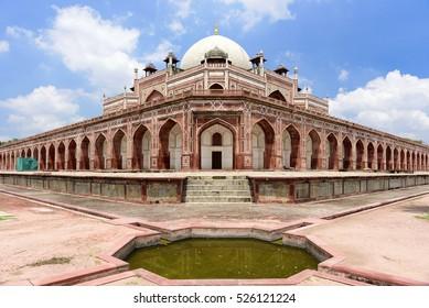 Mughal Emperor Humayuns Tomb in New Delhi, India.