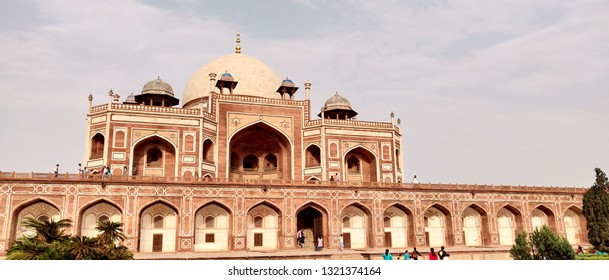 Mughal Emperor Humayun's Tomb in New Delhi India, The first garden-tomb on the Indian subcontinent