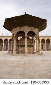 Muhammad Ali Pasha  tomb carved from Carrara marble, Cairo Citadel