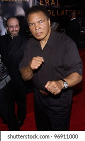 MUHAMMAD ALI at the world premiere, in Los Angeles, of Collateral. August 2, 2004
