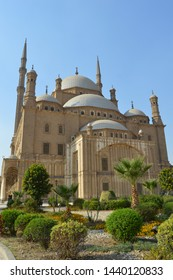 Muhammad-Ali-Mosque aka Alabaster mosque on the citadel hill of Cairo, Egypt