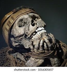 Muisca Mummy at Musel del Oro - Bogota/COL