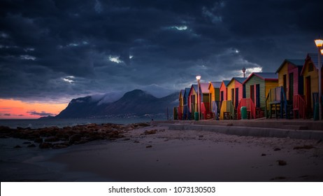 muizenberg bathing boxes