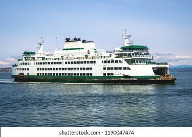Mukilteo Ferry in Washington-USA