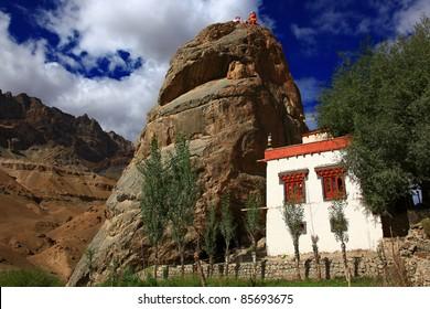 Mulbek Chamba Monastery, Ladakh, India