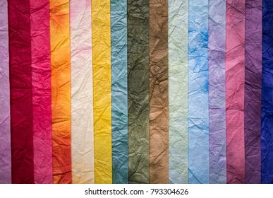 Mulberry paper texture background.