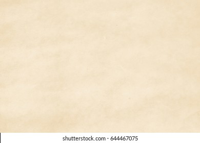 Mulberry paper texture pattern background in beige cream color