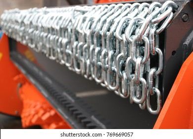 Mulcher. Number of mounted cultivator chains.