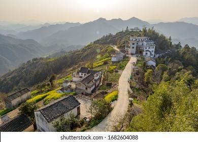 Muligong small village in Anhui, China.